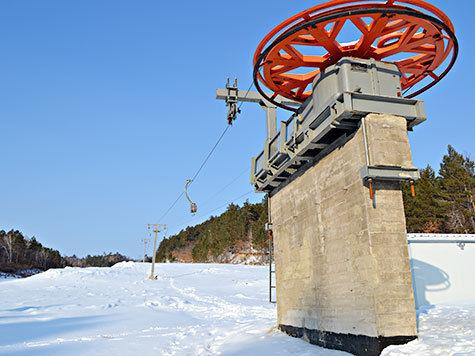 строительство подъёмник лыжная база горнолыжный спуск натальино